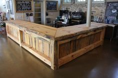 Nyc Metro Area Only! Price is determined by size ! Customized Rustic Bar or Counter Top (LIVE EDGE WOOD).Give us your dimensions Rustic Basement Bar, Basement Bar Designs, Home Bar Designs, Basement Bar Plans, Home Bar Plans, Diy Home Bar, Bars For Home, Diy Bar, Sofa Bar