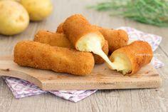 Involtini patate e prosciutto