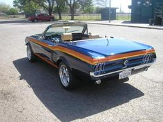 Ford Mustang Custom Convertible - 1967