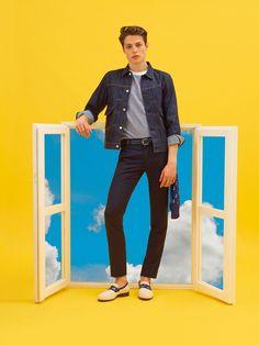 Maison Kitsuné Spring 2017 Menswear Collection Photos - Vogue