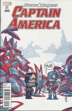 Skottie Young: Marvel Captain America Steve Rogers #1 limited variant cover