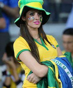 Hot brazilian fan world cup girl possible speak