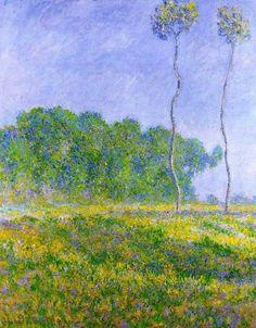 Paesaggio primaverile 1894 - Claude Monet
