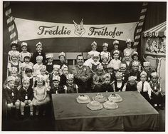 """Breadtime Stories"",or as popularly known, ""Freddy Freihofer"". Hosted by ""Uncle Jim Fisk""it was on WRGB in Schenectady. This picture is from 1962, the same year I went on for the first time."