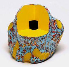 Ceramic artist and printmaker Kenneth Price (American: 1935 - 2012) - Ceramic Art