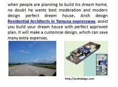 Ansh design Residential Architects in Yamuna expressway, assist you build your dream house with perfect approved plan. http://anshdesign.com/landscape-design.php