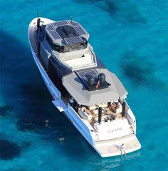 Arcadia 85S en première mondiale au Cannes Yachting Festival 2016.