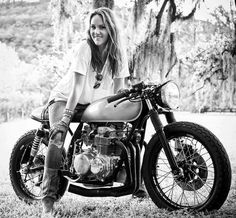 Girls on Motorcycles not pin-ups