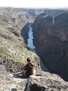 Rio Grande bridge and gorge