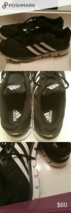 ***JUST IN*** Black and White Adidas Men's size 15 Adidas in excellent used condition. Will accept reasonable offers. Adidas Shoes Sneakers