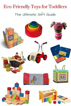 Eco-friendly and Natural Toys for Toddlers - 10 Amazing Gift Ideas