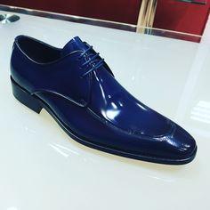 Fancy classic dark blue menstyle