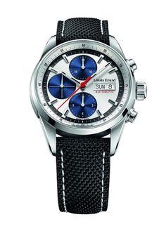 Men watches : Louis Erard Men's 78104AA11.BTD10 Heritage Analog Display Automatic Self Wind Black Watch