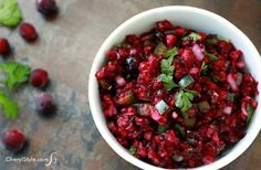 Cranberry Salsa Recipe on Yummly. @yummly #recipe
