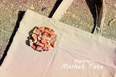 Children's Boutique Sewing Patterns: Free Beginner's Market Tote Sew Tutorial!