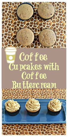 Looking for a delicious cupcake recipe? These Coffee Cupcakes with Coffee Buttercream Frosting are perfection! #coffeerecipes #cupcakerecipes #dessertrecipes | Coffee Recipes | Coffee Cupcakes | Dessert Recipes | Cake Recipes | Cupcake Recipes | Easy Reci Easy Cupcake Recipes, Dessert Cake Recipes, Easy No Bake Desserts, Delicious Desserts, Easy Recipes, Sweet Desserts, Amazing Recipes, Chocolate Chip Cupcakes, Coffee Cupcakes