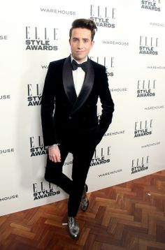 Nick Grimshaw at the ELLE Style Awards 2014