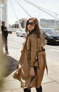 Some stylish looks with the classic camel coat/trench … dress it up or down, always looks great | 1 burberry trench photo | by dan medhurst, 2 alessandra codinha in a camel trench | by collage vintage, 3 classic camel coat | by altlantic pacific, 4 wide lapel long camel coat | by tommy ton, 5 giorgia tordini …