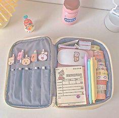 Korean Aesthetic, Pink Aesthetic, Aesthetic Shop, Cute Stationary, Bullet Journal Aesthetic, Kawaii Room, Cute School Supplies, Kawaii Accessories, School Bags