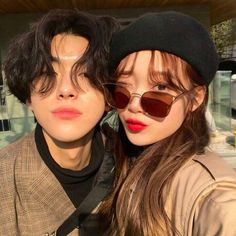 ImageFind images and videos about couple, korean and asian on We Heart It - the app to get lost in what you love. Ulzzang Korean Girl, Cute Korean Girl, Ulzzang Couple, Cute Couples Photos, Cute Couples Goals, Couple Pictures, Korean Couple, Best Couple, Cute Relationship Goals
