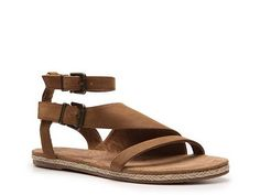 Blowfish Doris Flat Sandal Women's Flat Sandals All Women's Sandals Sandal Shop - DSW