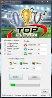 Hack For You Game: Top Eleven Manager Hack