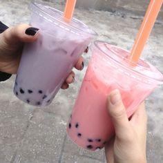 Pinterest: @ luxuryserenity Bubble Tea, Cute Food, I Love Food, Yummy Drinks, Yummy Food, Boba Drink, Food Porn, Tumblr Food, Starbucks Drinks