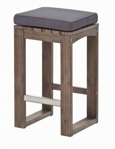 Sirrocco Outdoor Bar Stool from Harvey Norman New Zealand. Upon realising that the Urban Rustic Modern Barstool from Woodland Creek Furniture isn't available in New  Zealand, I began searching for alternatives.  Dimensions: 40cm x40cm x65cm Material: Acacia Hardwood $199 from Harvey Norman