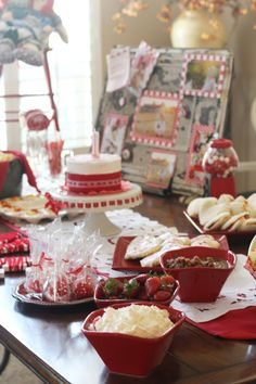 Super-cute Raggedy Ann party and some fab photos of the baby girl, too!