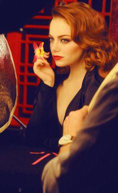 Emma Stone Revlon campaign
