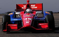 Graham Rahal drives the #38 Service Central Chip Ganassi Racing Honda