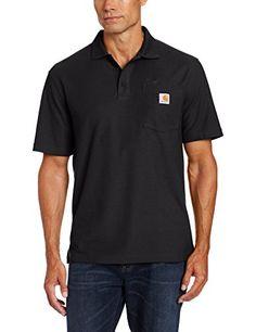 CARHARTT WORKWEAR Poloshirt »K570 Contractor's Work Pocket Polo« XL, schwarz
