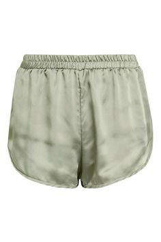 **Satin High Waisted Shorts by One Day - New In This Week - New In - Topshop Europe