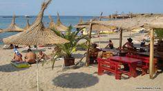 Gorące piaszczyste plaże w Bułgarii