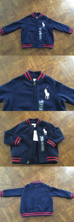 Baby Boys Clothing And Accessories: Ralph Lauren Baby Boy Warm Baseball Jacket Size 18M In Cruise Navy Nwt -> BUY IT NOW ONLY: $35 on eBay!