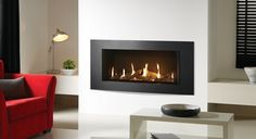 Built-in Gas Fires - Stovax & Gazco Gas Fires, Gas Stove, Stoves, Hearth, Building, Design, Home Decor, Fireplace Set, Log Burner