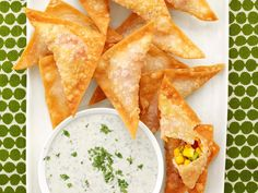These Mexican-inspired Fresh-Mex Corn Wontons won the Chairman's Corn Challenge in Food Network Magazine.