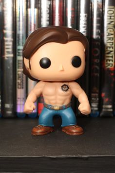 wow Sammy LOL #Supernatural Shirtless Sam Winchester Custom Funko by MistyFigs