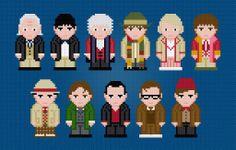 Doctor Who Cross Stitch pattern on Craftsy.com