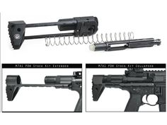 Product detail of Troy Industries M7A1 PDW Stock Assembly AR-15