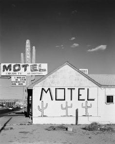 Jürgen Vogt - CACTUS MOTEL Gallup New Mexico 11˝× 13 ¾˝ Edition 15 16˝× 20˝ Edition of 11 Larger images available on request