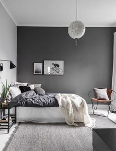 Elegant Deep Purple Room