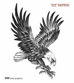 Cool Eagle Tattoo for Men Waterproof Temporary Tattoos Water . Tattoos And Body Art eagle tattoo Tattoos 3d, B Tattoo, Tattoo Hals, Temporary Tattoos, Body Art Tattoos, Tattoos For Guys, Celtic Tattoos, Beach Tattoos, Tattoo Quotes