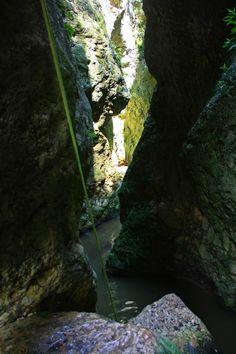 Xavos canyon. mt Pieria, Greece
