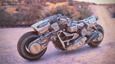 REK/R Drone Bike Concept, Paul Massey on ArtStation at https://artstation.com/artwork/rek-r-drone-bike-concept-36849514-d4e4-467f-8ea0-5ea96e136c46