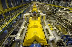 Nuclear Power Stations Steam Machine! —  at Paks Nuclear plant, Hungary.