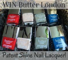Win Butter London Patent Shine 10x Nail Polish! Ends 5/11