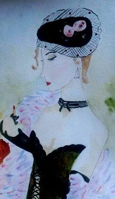 watercolor paint 18 x 25 cm