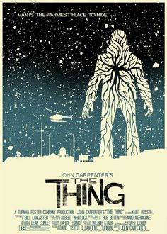 "MP1163. ""The Thing"" Alternative Movie Poster by Mark Welser (John Carpenter 1982) / #Movieposter"