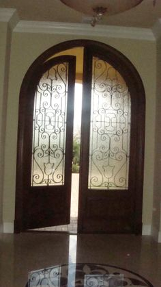1000 images about front doors on pinterest iron doors for Storm doors for double entry doors